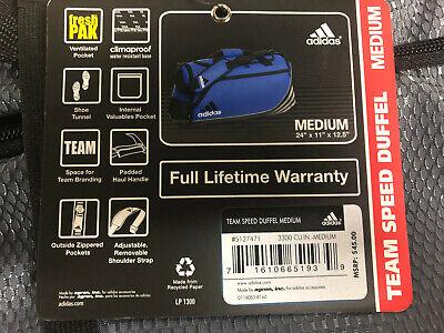 Adidas Climacool Medium Team Speed Duffel *NWT*