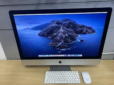 "Apple iMac 2015 27"" 5K Core i7 4GHz 32GB RAM 3TB FD. Radeon R9 M395X Graphics"