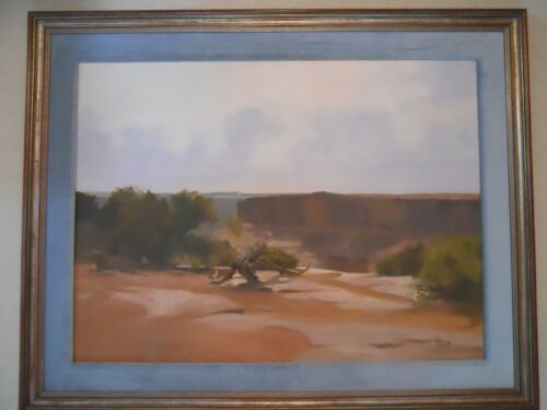 William Preston Dead Horse Canyon Oil Painting
