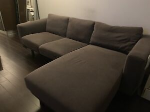 Sectional IKEA couch