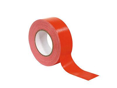 Accessory Gaffa Tape Duct Tape Klebeband rot 50mm x 50 m Neu und OVP