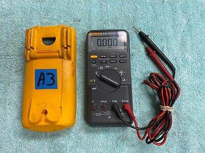 Lota3 Fluke 87 V True Rms Multimeter W Genuine Leads