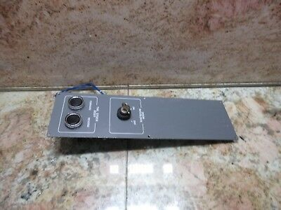 05 Daewoo Doosan Z290 Cnc Lathe Tailstock Onoff Power Switch Unit