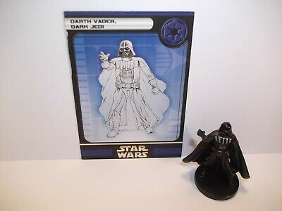 Star Wars Miniatures - Darth Vader, Dark Jedi 21/60 + Card - Rare - Rebel Storm