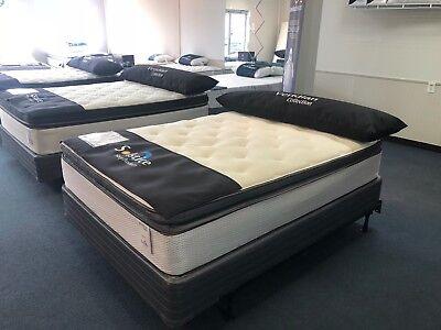 (queen pillow top mattress set)