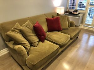 Restoration Hardware - English Roll Arm Sofa and Chair
