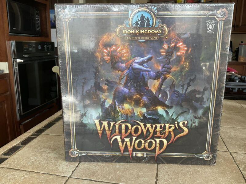 Iron Kingdoms Adventure Board Game: Widower