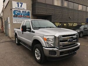2014 Ford F-250 XLT Extended Cab Short Box 4X4 Dual Fuel Gas CNG