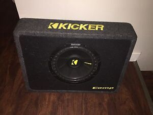 10 inch Kicker Subwoofer in ported box