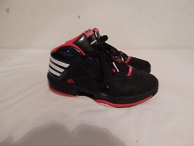 Boys Youth Size 7 Y Tennis shoes Adidas Basketball  NBA