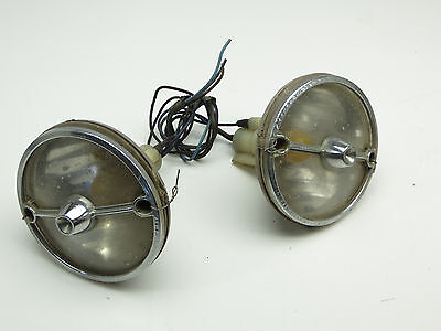 1974-77 Camaro parking lights with trim and bezels (2) Guide IF SAE-IP-4 5946264