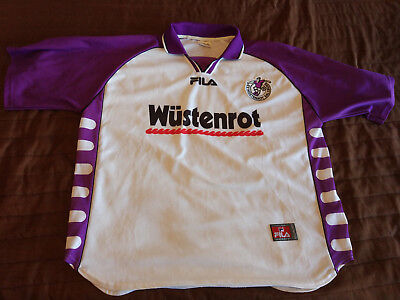 FILA 1999 2000 WUSTENROT RED BULL SALZBURG Vintage HOME SHIRT JERSEY Austria image
