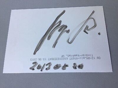 INGVAR KAMPRAD († 2018) IKEA-Gründer  signed Foto 10 x 15 Autogramm RARITÄT