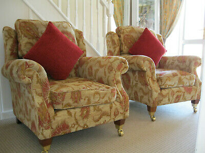 Parker knoll Henley / Oakham pair arm chairs.Cost new £2358