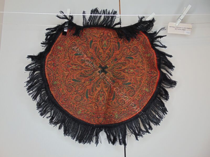 "FOLKLORE DUTCH ""WORTELDOEK"" PAISLEY DOILY"