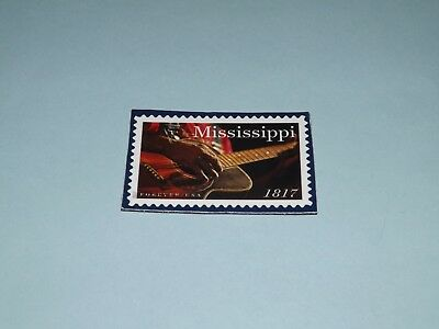 MISSISSIPPI Bicentennial - MAGNET OF THE US STAMP Released in 2017