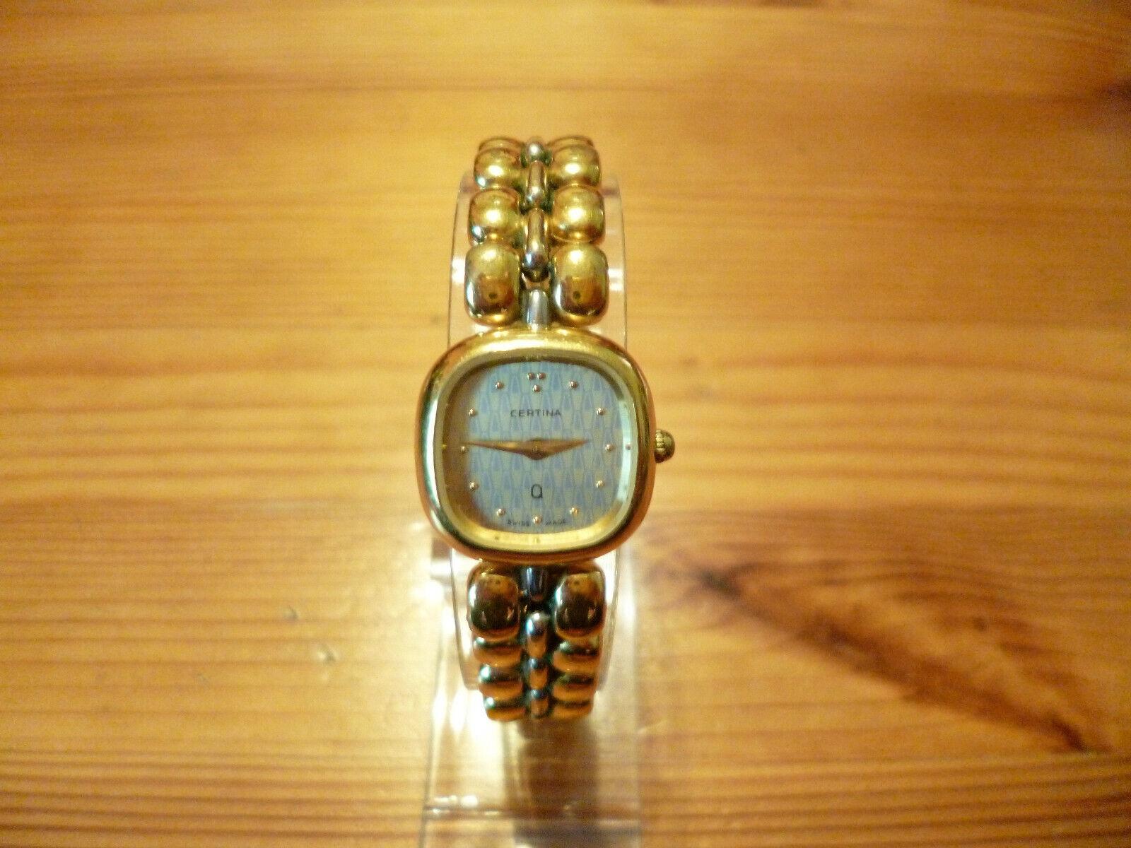 Certina  Damen Armbanduhr Swiss Made Quarz Vintage