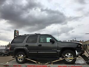 2001 Chevy Tahoe 4x4.  Parts or whole