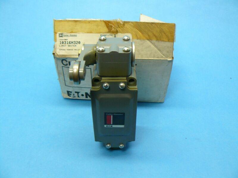 Cutler Hammer 10316H320 Limit Switch Side Rotary Spring Return NEMA 4 New