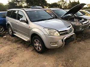 WRECKING 2010 GREAT WALL 240 FOR PARTS Willawong Brisbane South West Preview