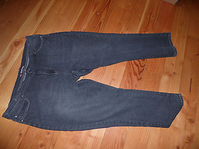 KISS THERAPY DARK GRAY  RELAXED  DENIM JEANS SIZE 22