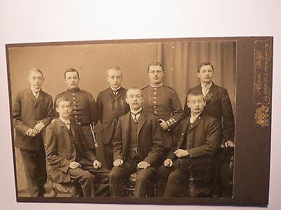 Elberfeld - Gruppe Männer - Soldaten in Uniform - Kulisse / KAB