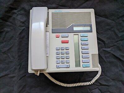 Nortel Northern Telecom Norstar Meridian M7208 Grey Telephone Nt8b30ae-93