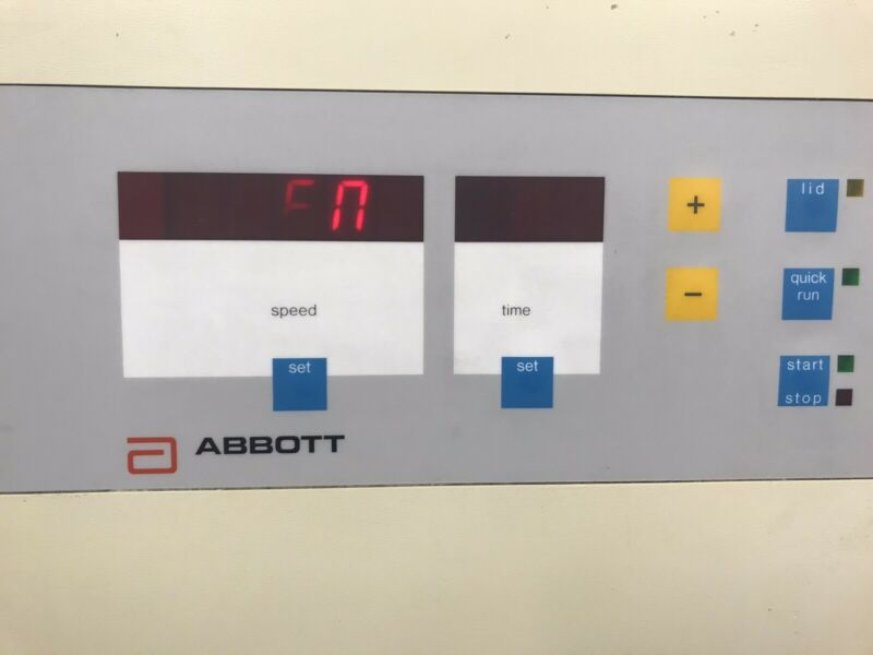 ABBOTT 3531 TABLE TOP CENTRIFUGE