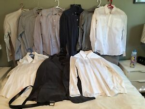Mens Club Monaco Dress Shirts & Blazer. Size LARGE.