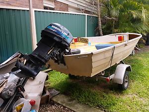 Savage,  25hp mercury sea pro, good trailer Bundall Gold Coast City Preview