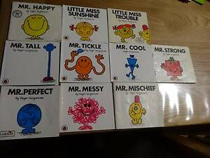 Mr. Men 10 Books Paperback Hargreaves Tall Tickle Messy Perfect Heathmont Maroondah Area Preview