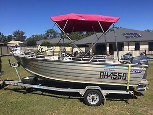 4.5M Seajay Magnum centre console boat Narangba Caboolture Area Preview