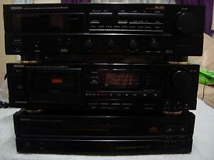 DENON STEREO SYSTEM  DRA 545 R + DCM 320 - DRM, 510  EXcellence Richlands Brisbane South West Preview
