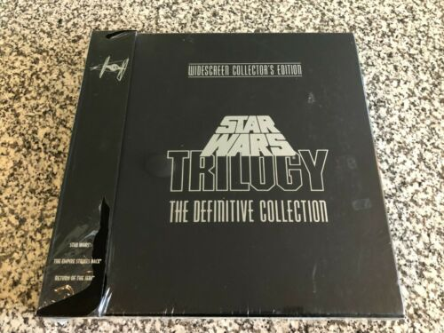 Star Wars Trilogy The Definitive Collection LASERDISC Set - NEW Factory Sealed