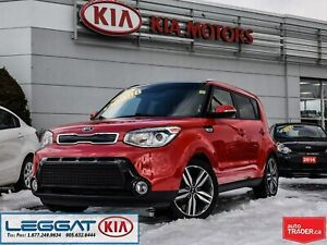 2015 Kia Soul SX Luxury   XENON   NAV   PANOROOF   HTD FEATURES