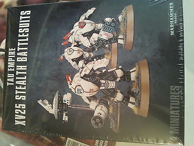 WARHAMMER 40K  TAU XV25 STEALTH TEAM - NEW & SEALED