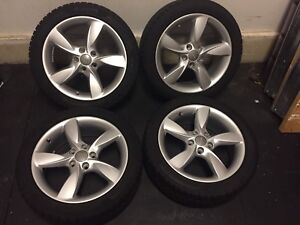 "17"" OEM Audi A3 winter tires and alloy rims  (Like New!)"
