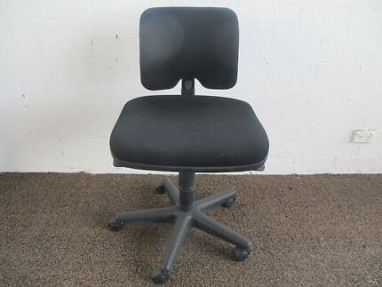 FORMWAY DESIGN KEY BY KNOLL, BLACK ERGONOMIC OFFICE CHAIR 5 AVAIL Tempe Marrickville Area Preview