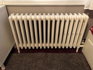 Four Column Hot Water Radiators - Height 26""