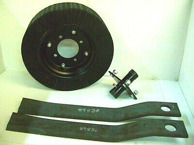 Tail Wheel Hub 2 - 5 Howse Rotary Cutter Blade 30 14 Long Blade 8 Wheel