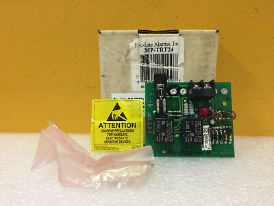 Fire-lite Mp-trt24 24 V Ac Dc 2 Wire Alarm Trouble Transmitter Module. New