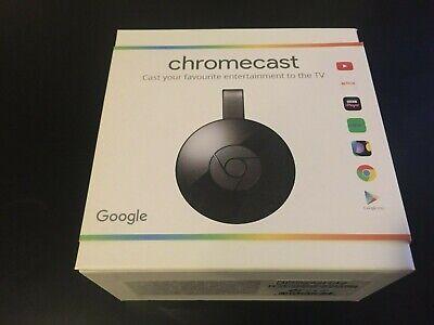 Google Chromecast Audio 2nd Generation Media Streamer - Black HDMI WIFI SMART