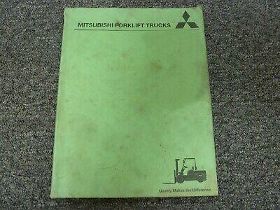 Mitsubishi Fgc18n Sn Af81f41452 Forklift Parts Catalog Manual