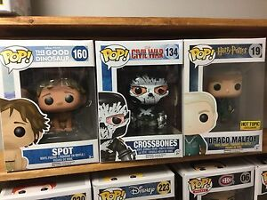 More Funko! Hot Topic Draco Malfoy, Disney Spot & Crossbones