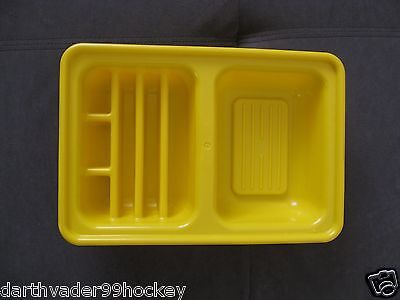 Little Tikes Food Country Victorian Kitchen   Yellow Dish Washer Rack Tray Drain