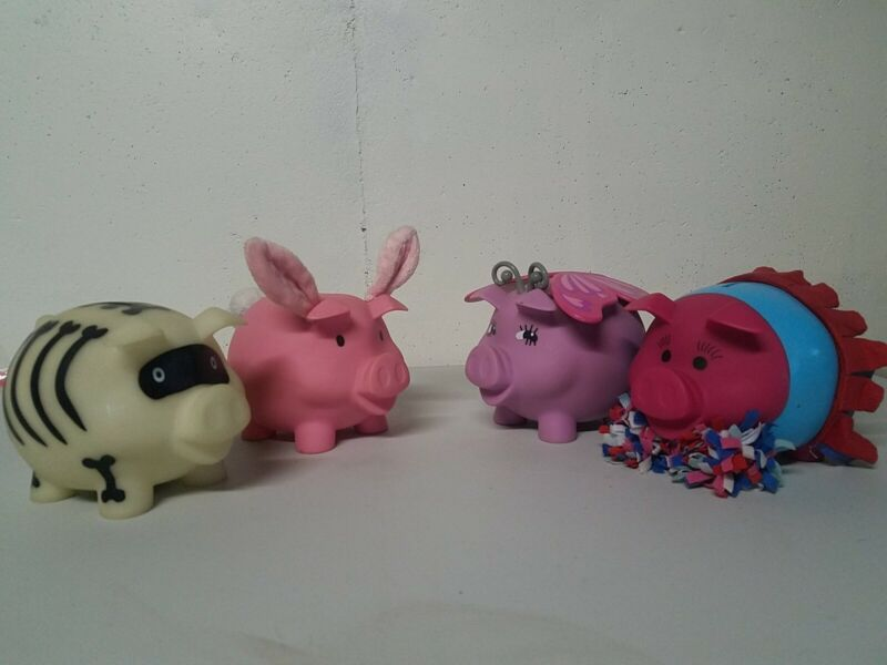 ~OLD NAVY~ Collectable 2011-2014 Piggy Bank Lot
