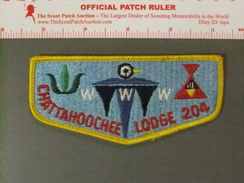 Boy Scout OA 204 Chattahoochee flap 7602JJ