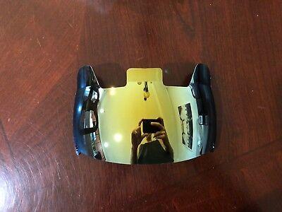 Oakley Football Helmet Visor Eye Shield Gold MIRROR VR-2 MEGA (Mirrored Oakley Visor)