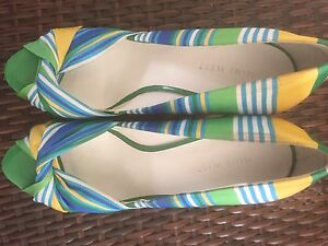 Nine West Chill Pill Cork Wedge Size 9