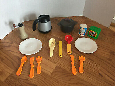STEP 2  Play Kitchen Coffee Pot Pepper Grinder Pot Lid Utensils REPLACEMENT LOT